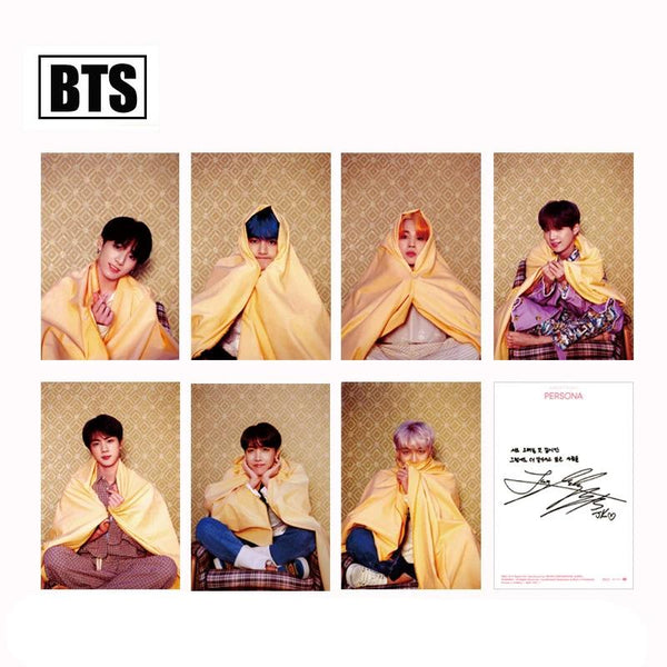 BTS X MAP OF THE SOUL:PERSONA postcard - BT21 Store | BTS Online Shop