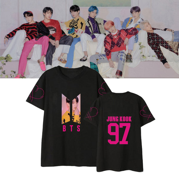 BTS X MAP OF THE SOUL:7 T-shirt - BT21 Store | BTS Online Shop