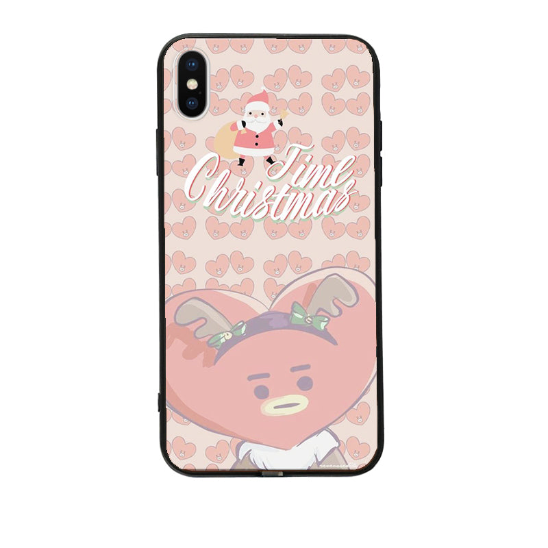 BT21 X Christmas LED Light Up iPhone Case - BT21 Store | BTS Shop