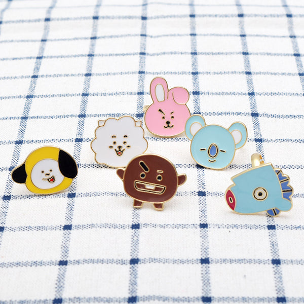 BT21 X Alloy badge - BT21 Store | BTS Online Shop