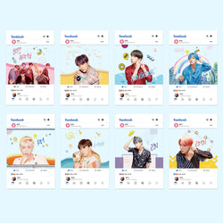 BTS X Facebook cards - BT21 Store | BTS Online Shop