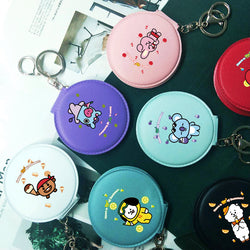 BT21 X DOUBLE-SIDED PORTABLE MIRROR - BT21 Store | BTS Online Shop