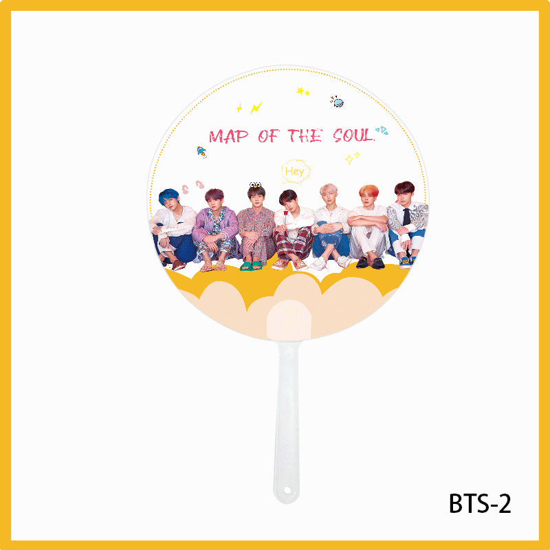 BTS X Transparent fan - BT21 Store | BTS Online Shop