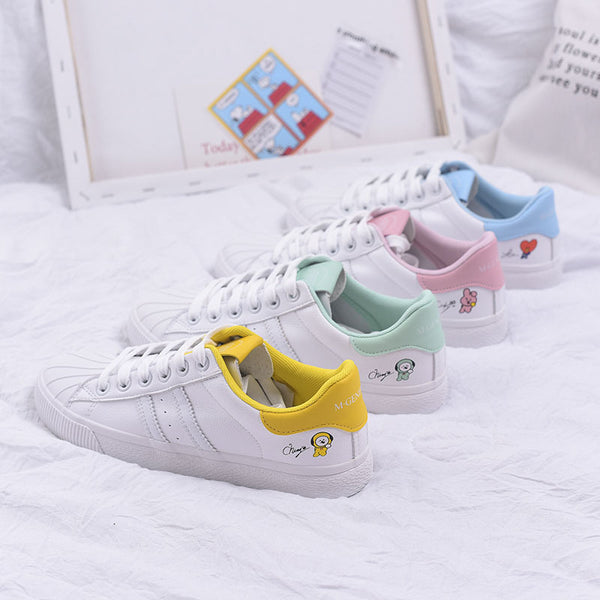 BT21 X Shoes Sneakers - BT21 Store | BTS Shop
