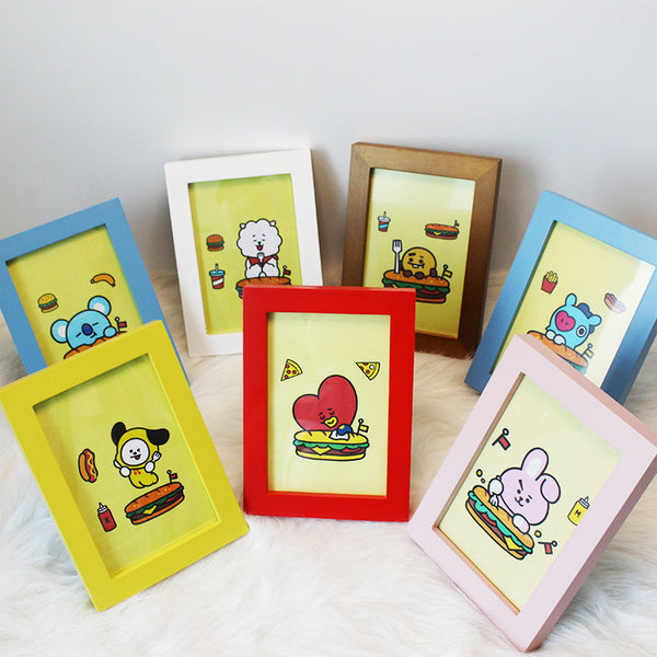 BT21 X Decorative photo frame - BT21 Store | BTS Online Shop