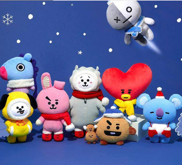 BT21 X Christmas doll - BT21 Store | BTS Online Shop