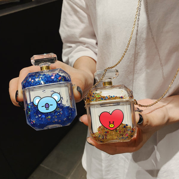 BT21 X  Quicksand Liquid Airpods Case - BT21 Store | BTS Online Shop