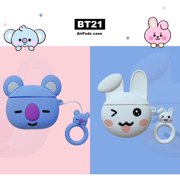 BT21 X COOKY KOYA AIRPOD CASE - BT21 Store | BTS Shop