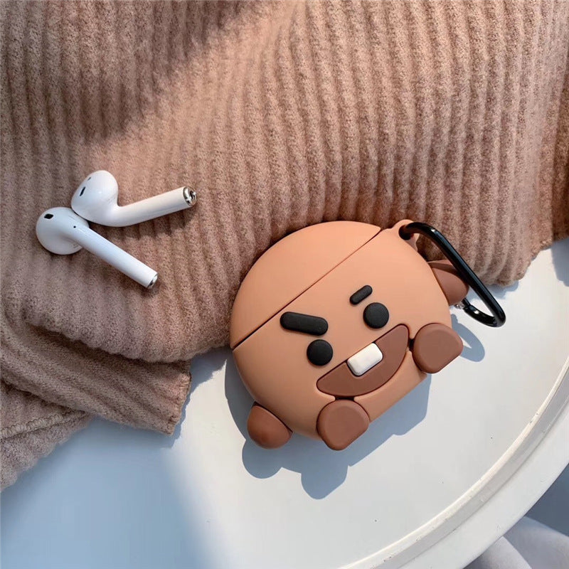 BT21 X SHOOKY AIRPOD CASE