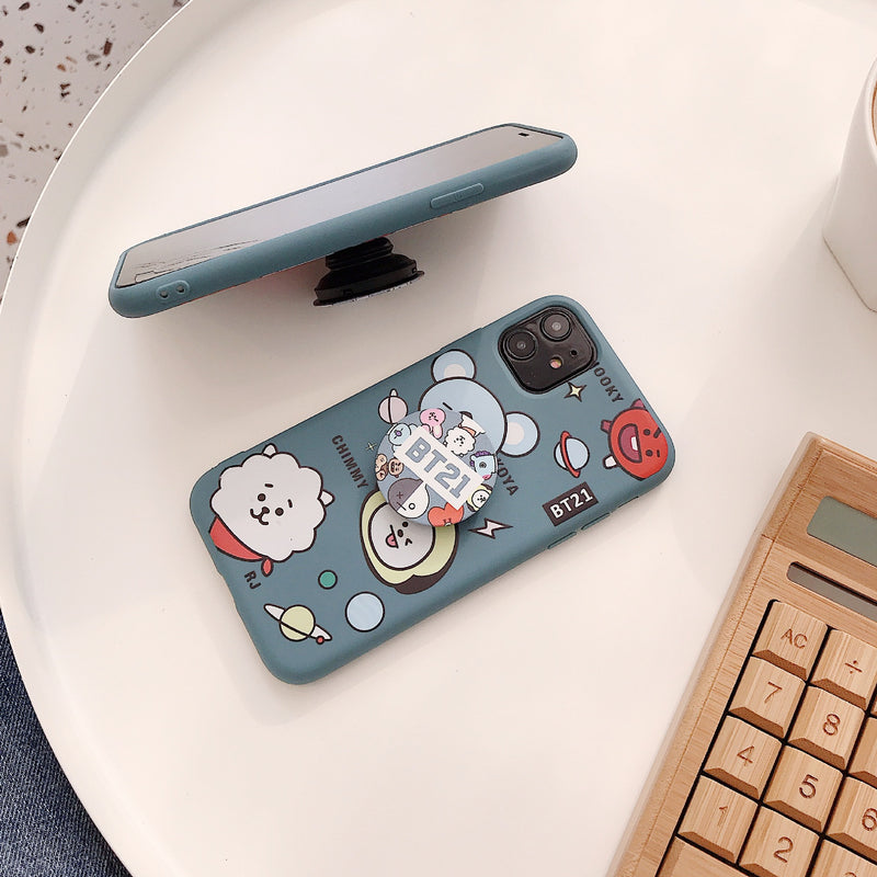 BT21 X Huawei iPhone Case + phone holder - BT21 Store | BTS Shop