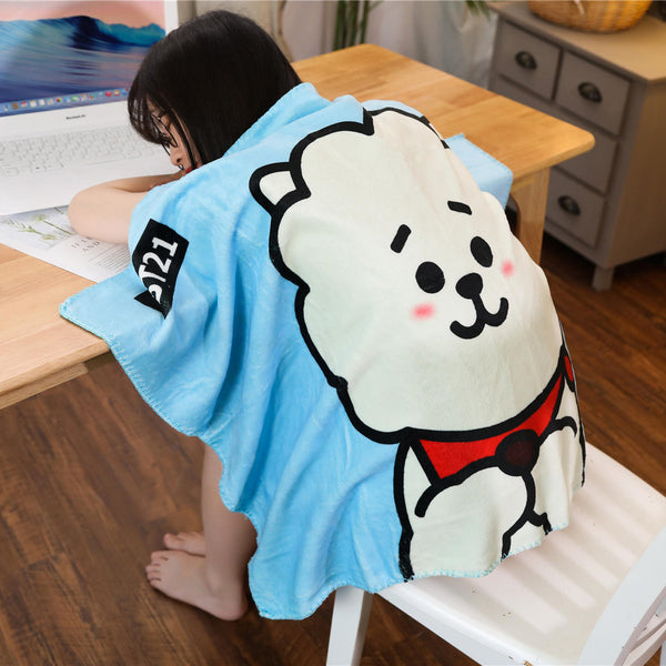 BT21 X  Flannel Blanket - BT21 Store | BTS Online Shop