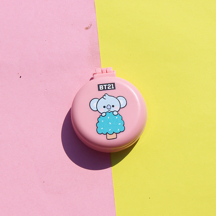 BT21 X Baby Mini Portable Folding Hair Brush - BT21 Store | BTS Online Shop