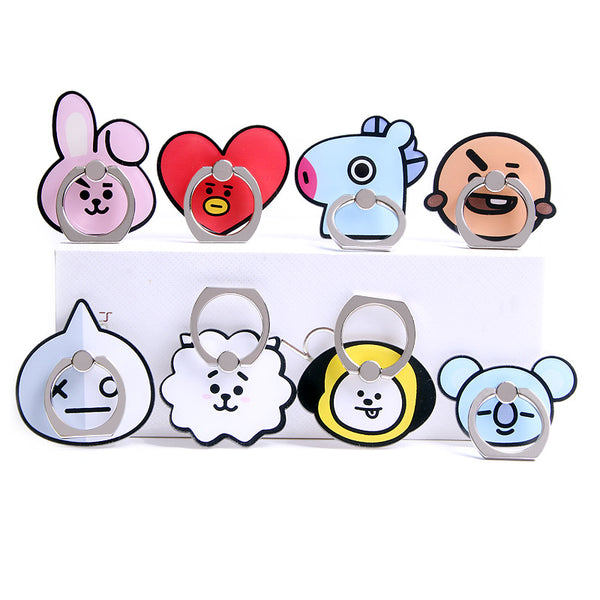 BT21 X 360° ROTATING FINGER RING - BT21 Store | BTS Online Shop