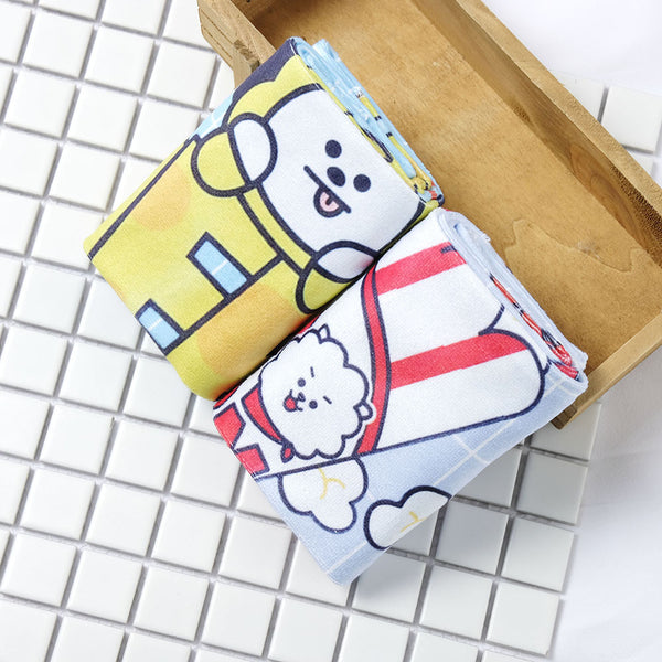BT21 X  LOVELY CARTOON SOFT TOWEL - BT21 Store | BTS Online Shop