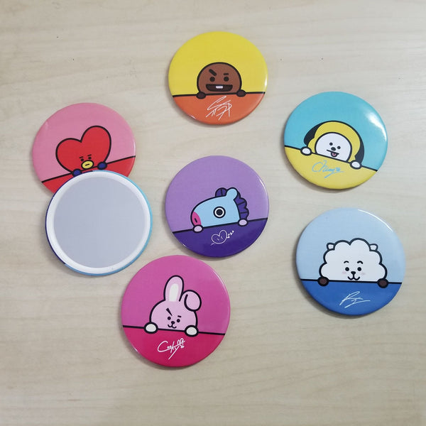 BT21 X Portable mirror - BT21 Store | BTS Online Shop