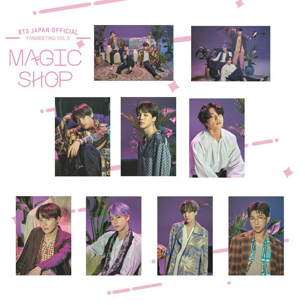 BTS X 5TH Magic Shop POSTER - BT21 Store | BTS Shop