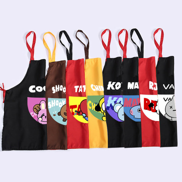 BT21 X Kitchen apron - BT21 Store | BTS Online Shop