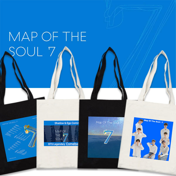 BTS X MAP OF THE SOUL: 7 CANVAS BAG - BT21 Store | BTS Online Shop