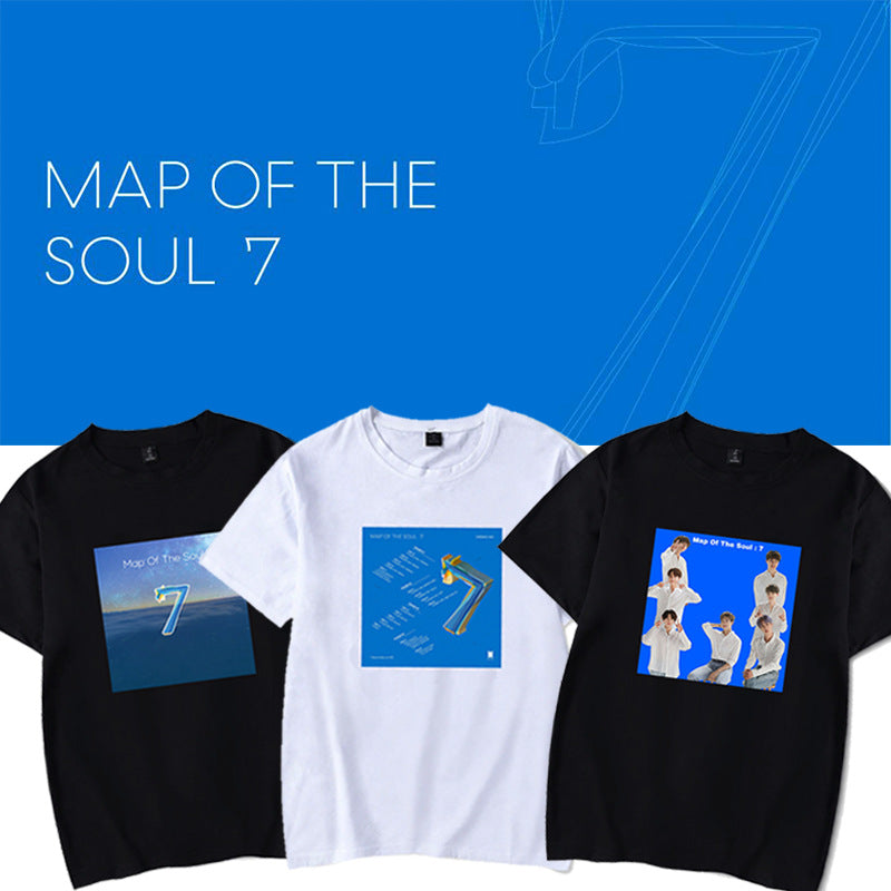 BTS X MAP OF THE SOUL: 7 CONCEPT T-Shirt - BT21 Store | BTS Online Shop