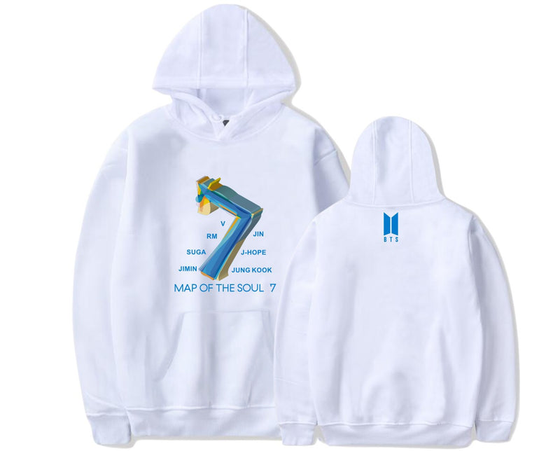 BTS MAP OF THE SOUL: 7 HOODIE - BT21 Store | BTS Online Shop