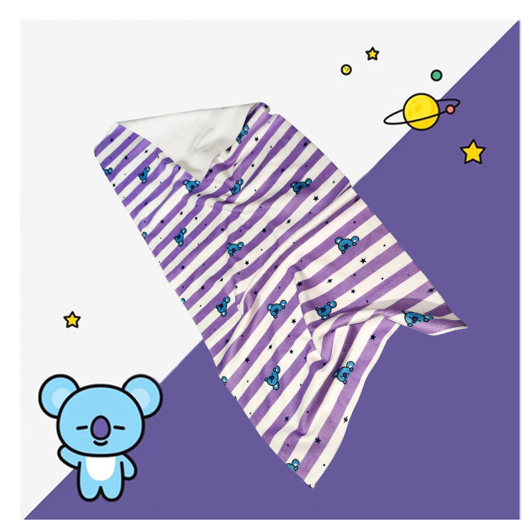 BT21 X Face towel - BT21 Store | BTS Online Shop