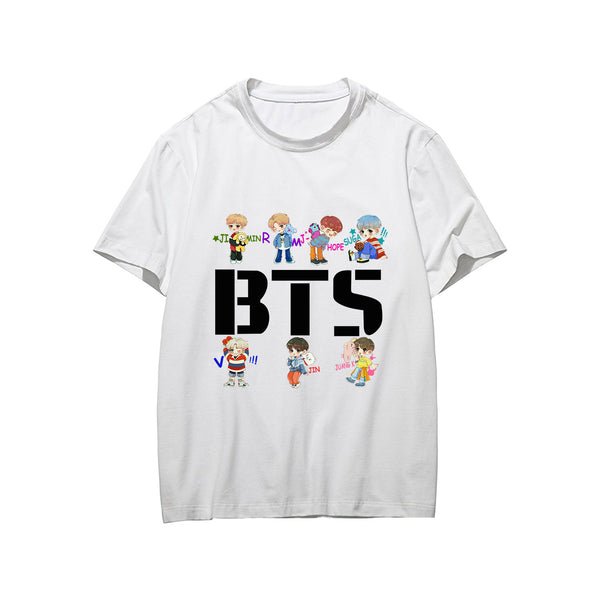 BT21 X CARTOON T-Shirt - BT21 Store | BTS Online Shop