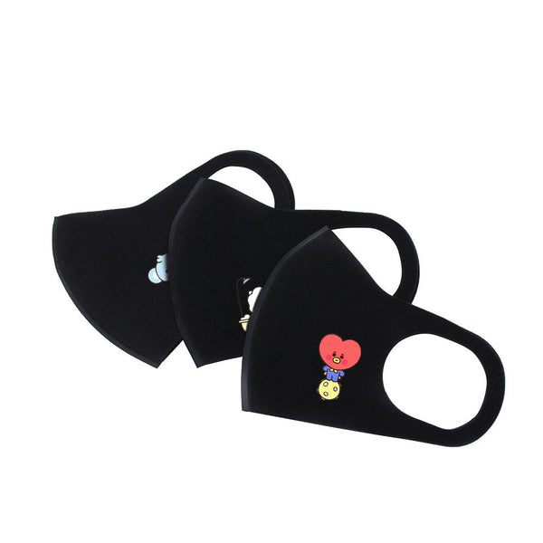 BT21 X HANGING EAR MOUTH MASK (5Pcs) - BT21 Store | BTS Online Shop