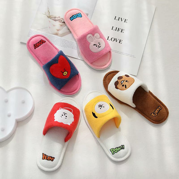 BT21 X Slippers - BT21 Store | BTS Online Shop