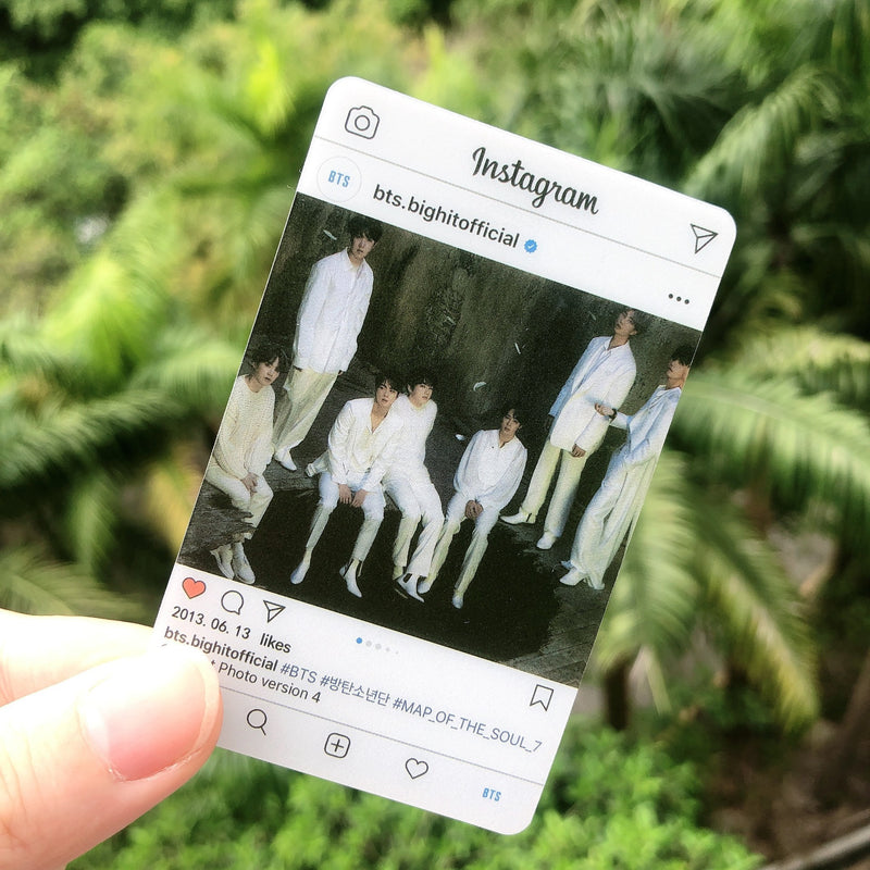 BTS X MAP OF THE SOUL 7 Instagram Cards - BT21 Store | BTS Online Shop