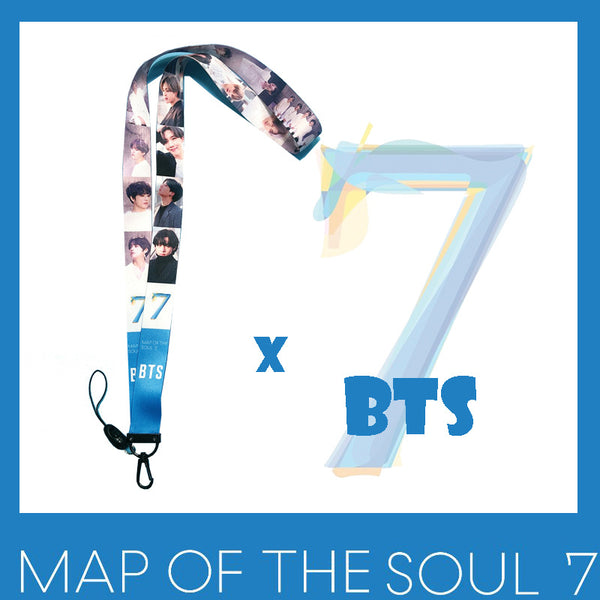 BTS X MAP OF THE SOUL:7 Mobile Phone Straps - BT21 Store | BTS Shop