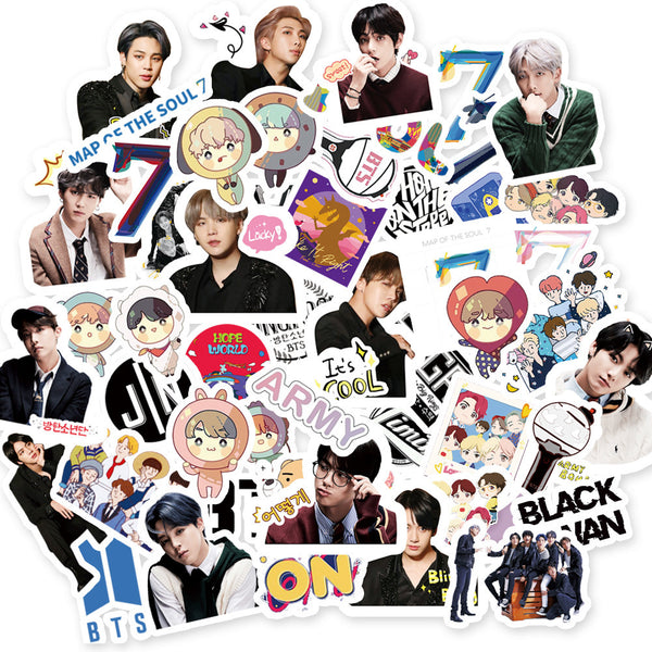 BTS X STICKERS - BT21 Store | BTS Shop