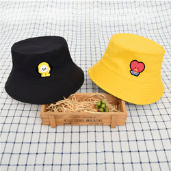 BT21 X fisherman Bucket Sun Hat - BT21 Store | BTS Online Shop