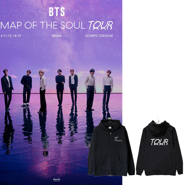 BTS X MAP OF THE SOUL Touring concert hoodie - BT21 Store | BTS Online Shop