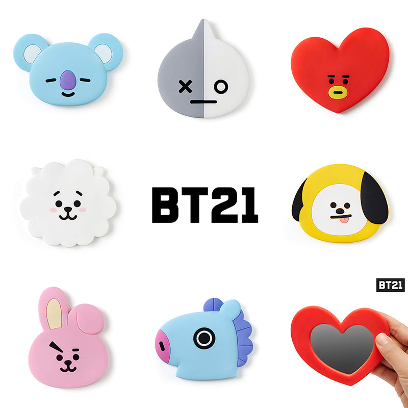 BT21 X  Portable Hand Mirror - BT21 Store | BTS Online Shop