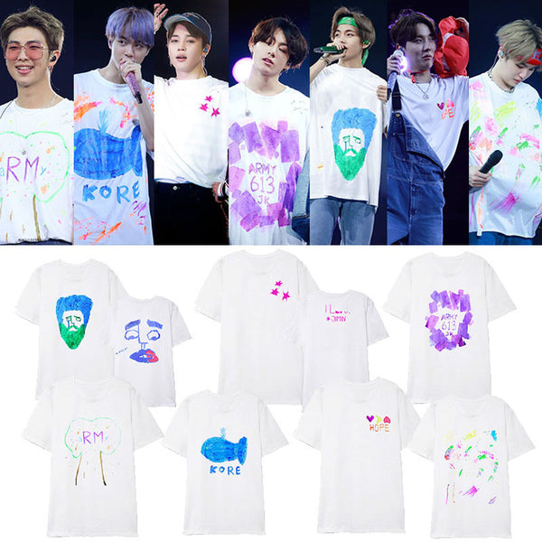 BTS 5TH MUSTER Graffiti T-SHIRT - BT21 Store | BTS Online Shop