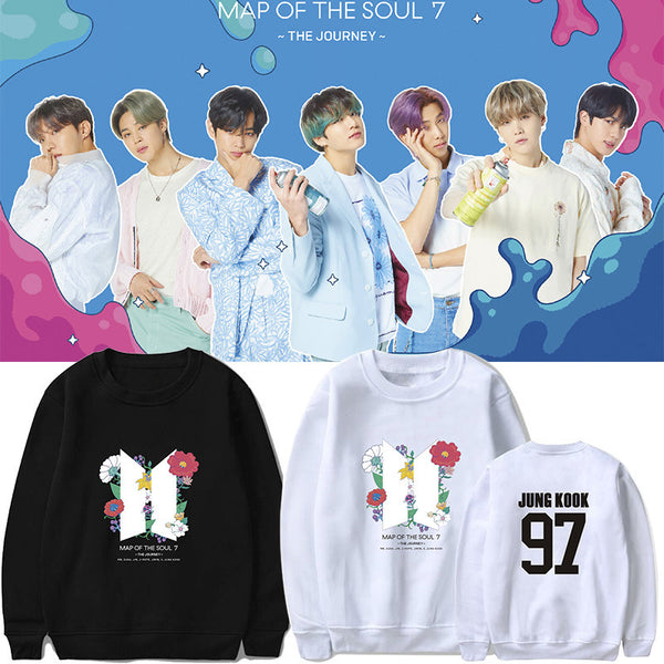 BTS MAP OF THE SOUL 7 Sweater - BT21 Store | BTS Online Shop