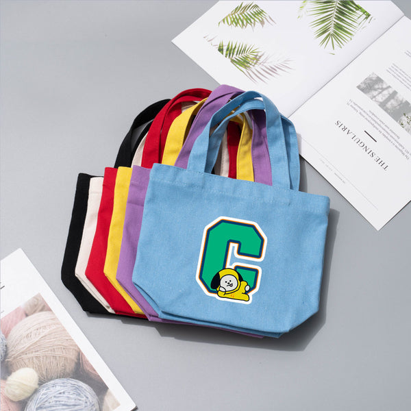 BT21 X Canvas lunch bag - BT21 Store | BTS Online Shop