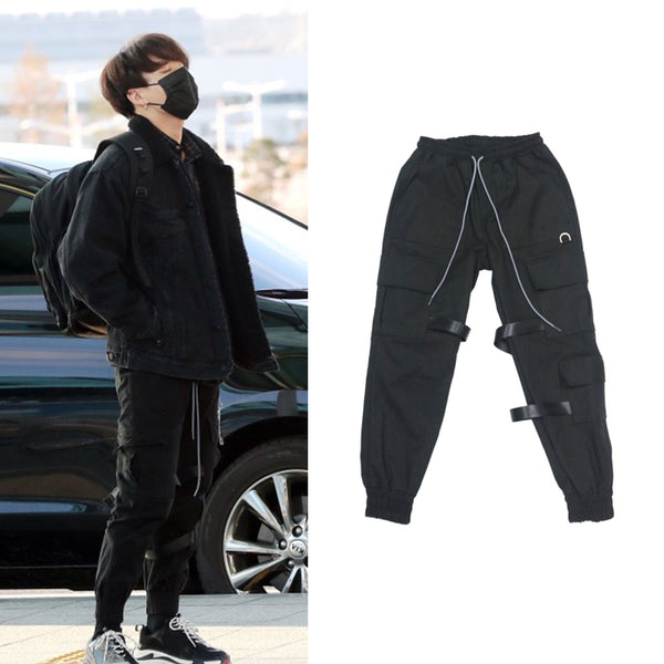 BTS Jungkook Boy With Luv Dance Practice Trousers - BT21 Store | BTS Online Shop