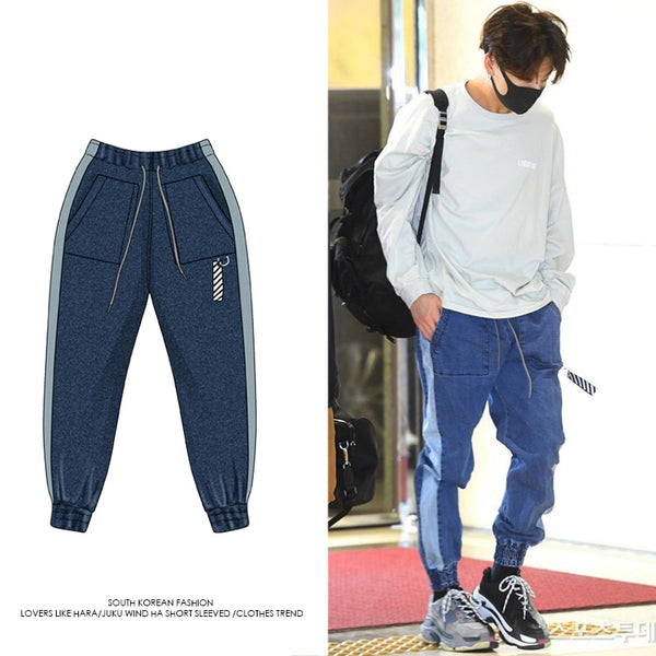 BTS Jeon Jeongguk Gimpo Airport Fashion Trousers - BT21 Store | BTS Online Shop