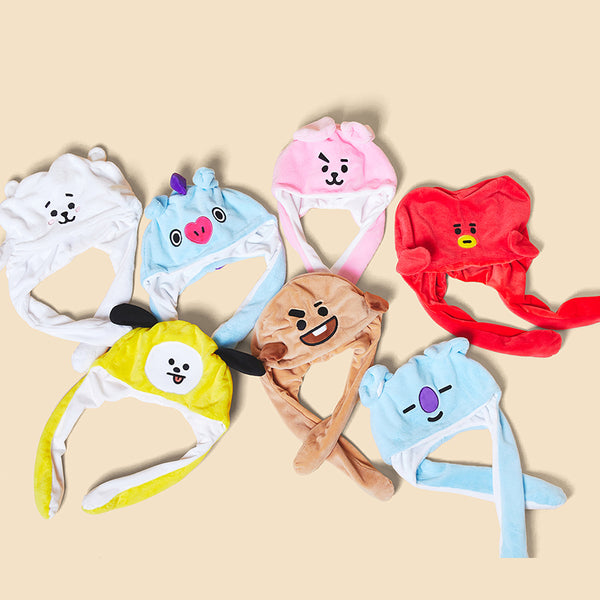 BT21 X Dance Hat with Ears - BT21 Store | BTS Online Shop