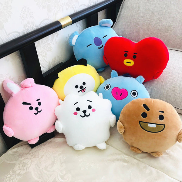 BT21 X PongPong Plush Cushion Pillow - BT21 Store | BTS Online Shop