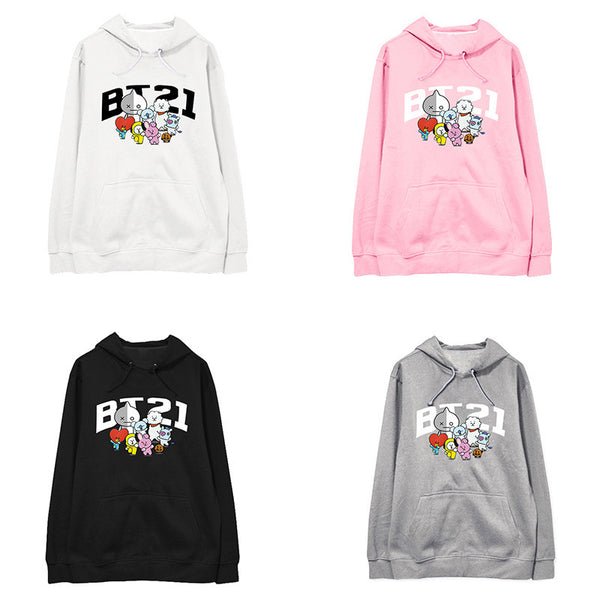 BT21 New Cute Hoodie - BT21 Store | BTS Shop