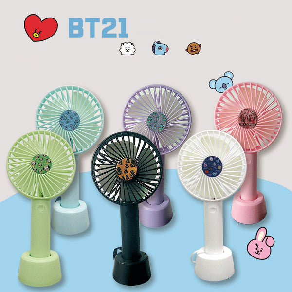 BT21 X MINI PORTABLE FAN - BT21 Store | BTS Online Shop