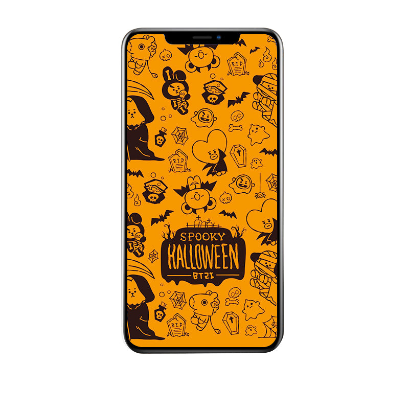 BT21 X Halloween LED Light Up iPhone Case - BT21 Store | BTS Online Shop