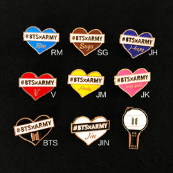BTS Member Name Badge - BT21 Store | BTS Online Shop