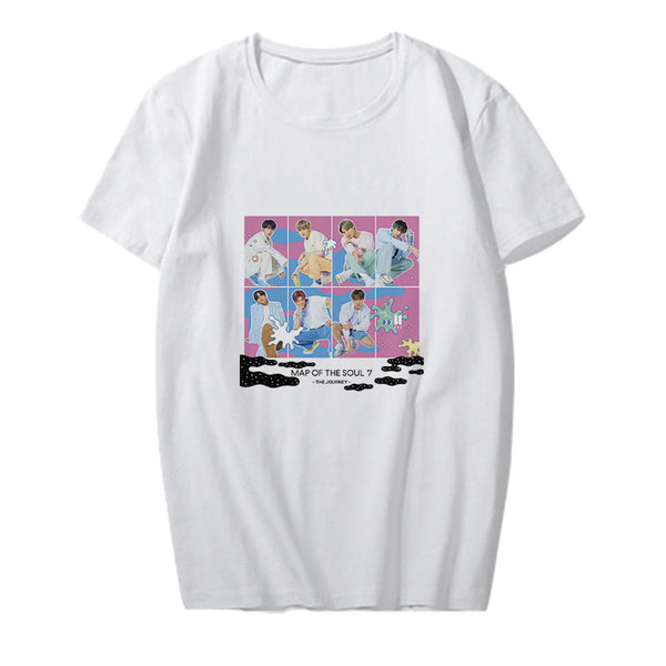 BTS MAP OF THE SOUL 7 THE JOURNEY T-Shirt - BT21 Store | BTS Shop