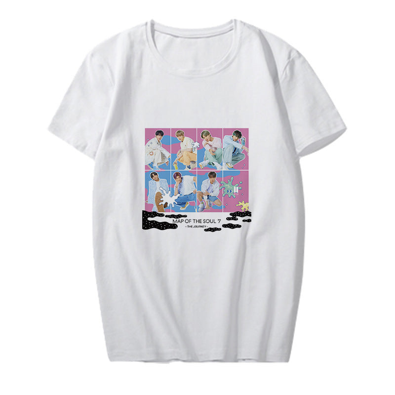 BTS MAP OF THE SOUL 7 THE JOURNEY T-Shirt - BT21 Store | BTS Online Shop