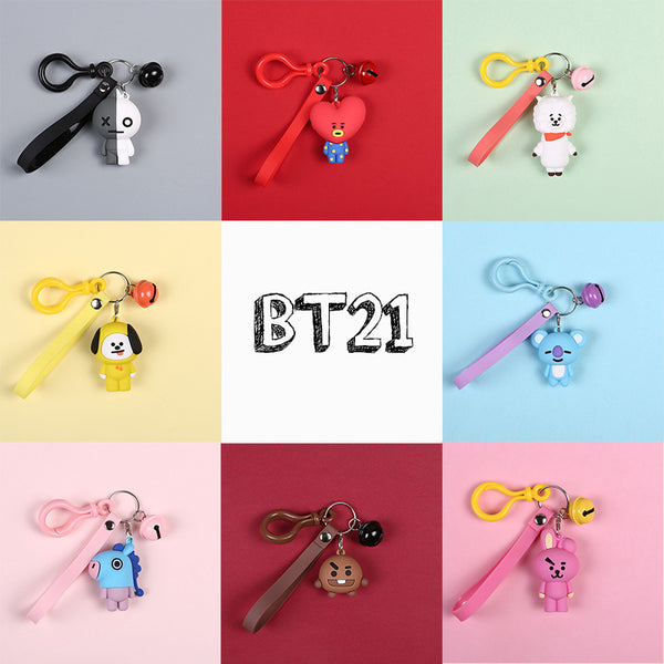 BT21 X Keychain - BT21 Store | BTS Shop
