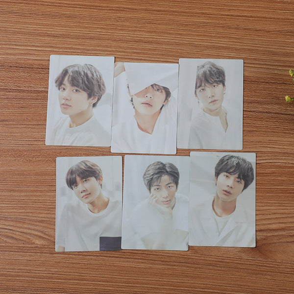 BTS 7 Sheets Today Exhibition Yellow Card - BT21 Store | BTS Online Shop