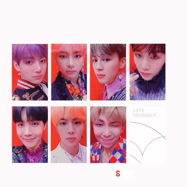 BTS X Love yourself lomo card - BT21 Store | BTS Online Shop